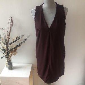 Kit and Ace V-Neck Zip Up Dress